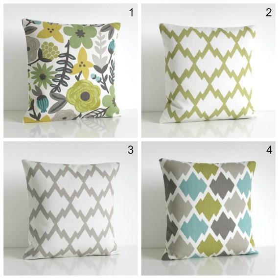 Ikat Pillow Cover, Cushion Cover, Ikat Pillow Sham, Throw Pillow Cover, Pillow Case, Linen Cotton Pillows - Ikat Lush Collection