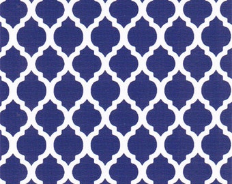 Fabric Finders Small Royal Quatrefoils
