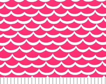 Fabric Finders Pink Waves
