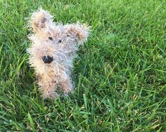 Crochet Dog Amigurumi Terrier Dog