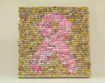 """Paper Bead """"Painting"""":   """"Hope is Golden"""""""