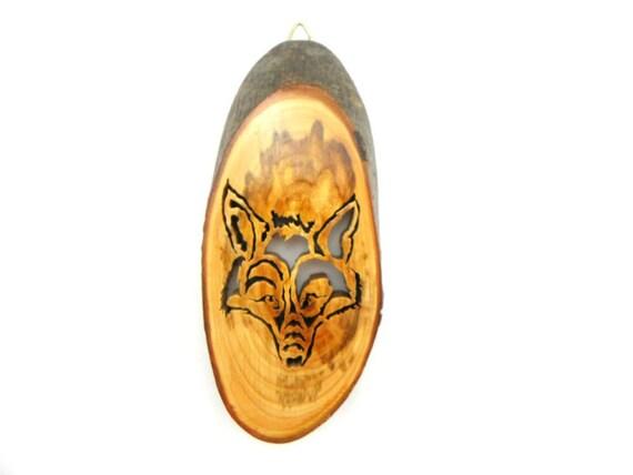 Fox Wall Art, Fox Art, Fox Lover, Fox Décor, Wall Art, Wildlife Art, Wildlife Wall Art, Woodland Art, Forest Animal, Handmade Woodwork