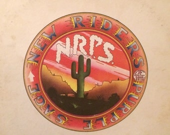 New Riders Of The Purple Sage Jerry Garcia 1971 LP
