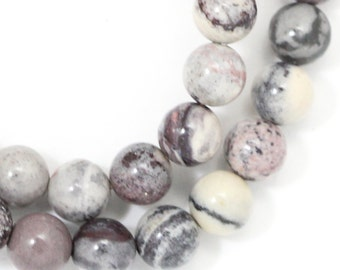 Porcelain Jasper Beads - 6mm Round - Limited Quantity