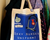 Sexy nurses uniform bag fun gift for a nurse