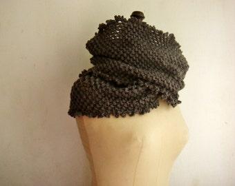 Pattern Crochet Infinity Scarf, Double Cowl Crochet Pattern, Circle Scarf Pattern, 249
