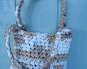 Plastic Bag Tote Upcycled Free Shipping in the USA