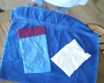 scented heat therapy rice bag with pillow case