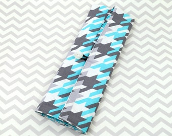 Knitting Needle Roll or Paintbrush Roll - Turquoise