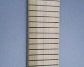 Quilter's Hanging Ruler Rack, 24 slots, Unfinished Poplar