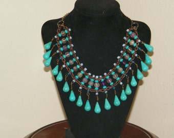Aztec Tribal Necklace