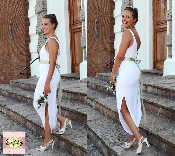 wedding dress diaper