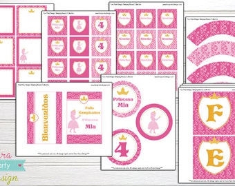 Sleeping Beauty Party Entire Printable Collection by Fara Party Design