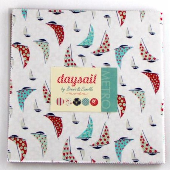 Last One Remaining! - Moda - Daysail Layer Cake  - Bonnie And Camille Fabric