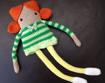 Long Legged Dolly Crochet Pattern