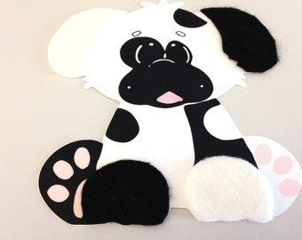 Dalmatian dog animal craft kit for kids birthday party favor decoration arts and crafts stocking stuffer or scrapbooking