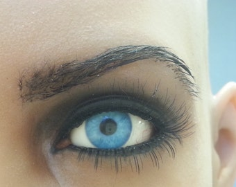 hair work for masks, dolls, eye brows, other