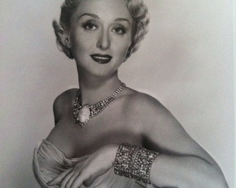 Celeste Holm, Actress, 8x10 Glossy
