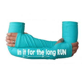 running accessories, sleeves for running - long run  -  arm warmer, running gear, gift for runners, running sleeve