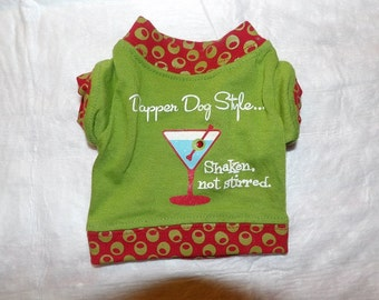 XXS size prined t-shirt for your pampered pooch