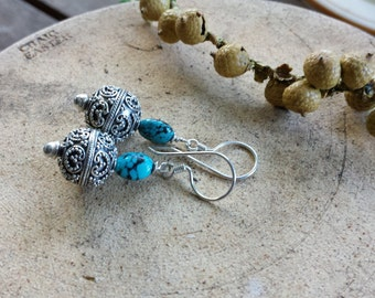 Bali Silver with a touch of Turquoise