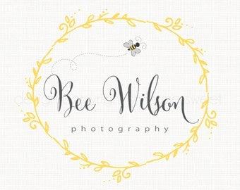 Bee Logo Design Frame Logo Design Photography Logo Premade Logo Design Graphic Design Travel Agency Logo Bakery Logo Jewelry Logo Design