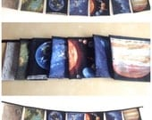 Solar System Bunting Space Banner Planets 7 Large Square Flags 5ft