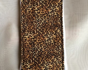 Leopard Burp Cloth
