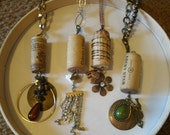 Up-cycled Wine Cork Necklace