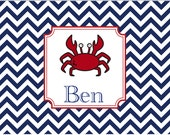 Monogrammed Laminated Placemat
