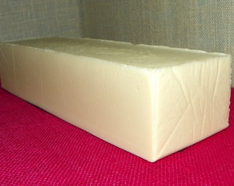 Clean Linen Breeze 3.5 Pounds Milk Soap Loaf - Cold Process with Avocado Oil and Shea Butter
