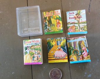 Might Miget Miniature Book Collection, Grouping of 5 Boxed
