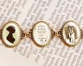 "Jane Austens ""Emma"" - Literature Bracelet"