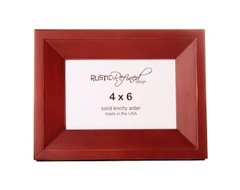 4x6 Haven picture frame - Barn Red