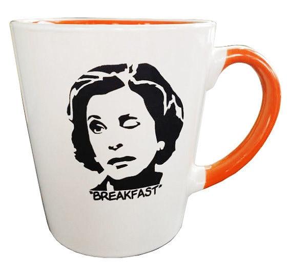 "Lucille Bluth's ""Breakfast"" mug"