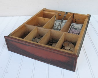 The National Cash Register Company - 1940s Cash Drawer Tray - Cash Register Drawer