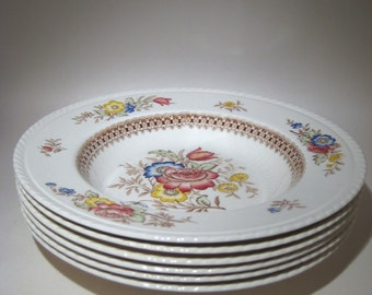 6 Crown Ducal Peover  Bowls