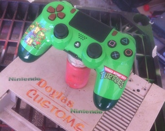 Custom tmnt playstation 4 controller made to order