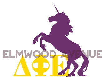 Delta Phi Epsilon Sorority decal sticker