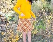 Plaid Cheeky Little Schoolgirl A-Line Skirt