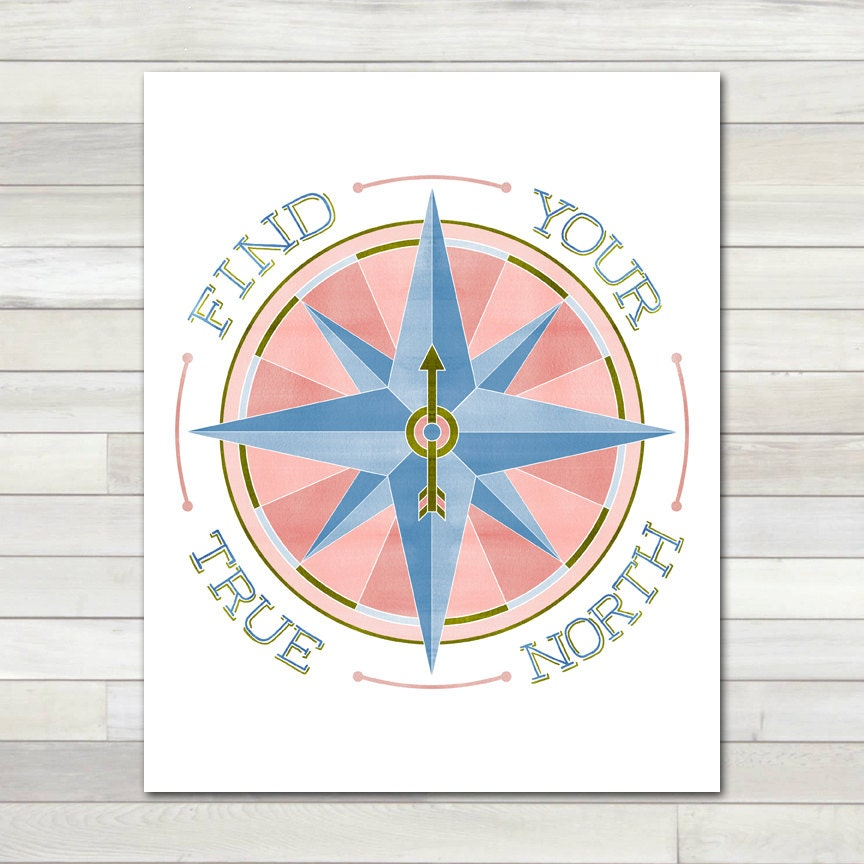 This is a graphic of Crafty Printable Compass Rose