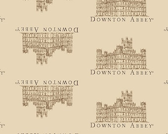 Downton Abbey Small Portrait Fabric by Andover