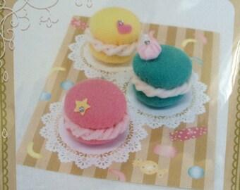 Japaness Wool Felt Kit - Macaroon