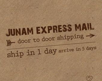Specially to Sayantan **** Junam  EXPRESS Shipping 5 days door to door
