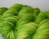 Hand Dyed Yarn - MCN Fingering - Holy Guacamole