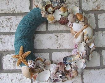 Seashell Coastal Wreath