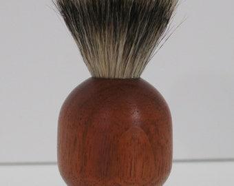 shaving brush, pure badger hair, jatoba