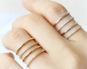 RC002 Cuff style Ring / adjustable ring, multi line ring, choose your color, gold and silver