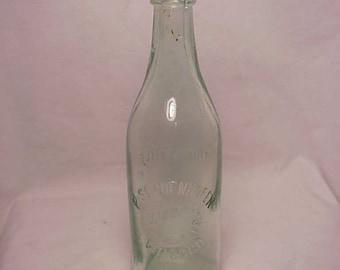 c1890s P. Schoenhofen Brewing Co. Table Beer Chicago, ILL., Aqua Blob Top Breweriana Beer Bottle