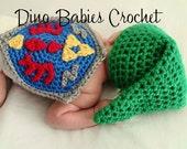 Link Baby Hat Newborn Zelda Crochet Infant beanie